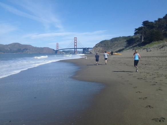 Baker Beach & the Golden Gate!