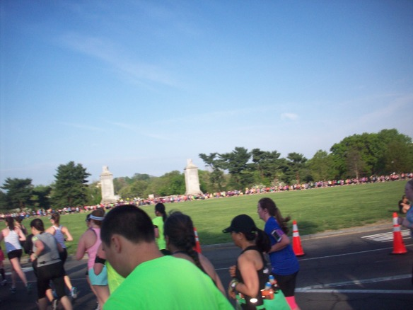 Circle of Happy Nike Runners